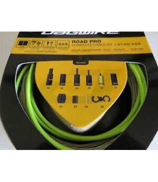 JAGWIRE ENS CABLES RACER VERT LIME