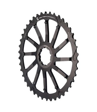 Wolf Tooth components GC, Single Cog, 42T, Shimano 10