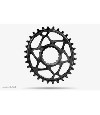 ABSOLUTE BLACK OVAL RACE FACE BOOST CHAINRING 28T BLACK