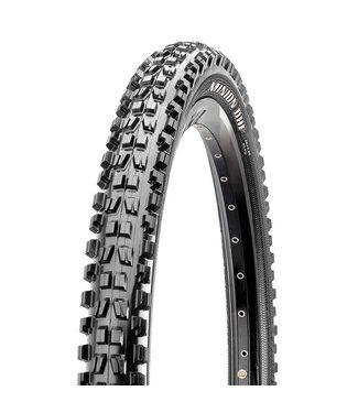 MAXXIS Maxxis, Minion DHF, Tire, 27.5''x2.50, Folding, Tubeless Ready, 3C Maxx Grip, Double Down, Wide Trail, 120x2TPI, Black