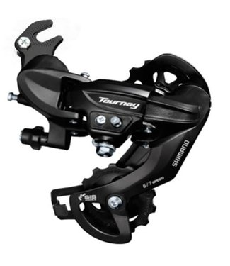 Shimano REAR DERAILLEUR, RD-TY300, TOURNEY, 6/7-SPEED, W/RIVETED ADAPTER(ROAD TYPE), IND.PACK