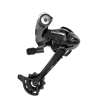 Shimano REAR DERAILLEUR, RD-M591-L, DEORE, SGS 9-SPEED TOP-NORMAL DIRECT ATTACHMENT, BLACK, IND.PACK