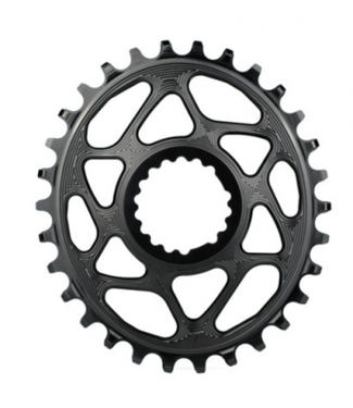 ABSOLUTE BLACK ROUND CANNONDALE CHAINRING 28T BLACK