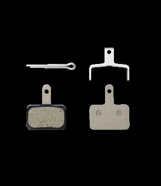 Shimano B01S - RESIN PAD & SPRING W/SPLIT PIN, 1 PAIR