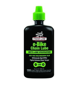FINISH  LINE EBIKE CHAIN LUBE 4OZ (CASE OF 12)