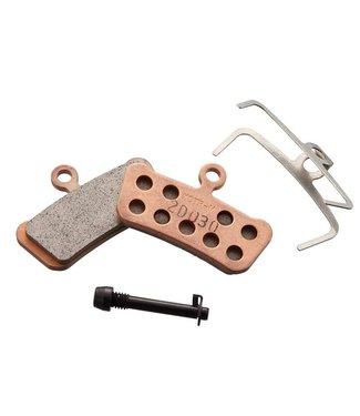 SRAM 11.5015.040.030, Plaquettes de freins a disque, Forme: SRAM Guide/Avid Trail, Metallique