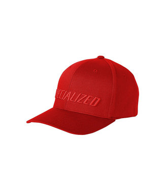 SPECIALIZED PODIUM HAT TRADITIONAL FIT - Red/Red LGX