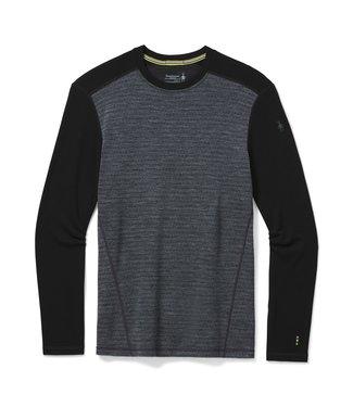 SMARTWOOL Vêtement de base à encolure ronde et motif Merino 250  Hom /gris mi-foncé