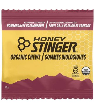 HONEY STINGER Honey Stinger Organic Energy Chews Pomegranate