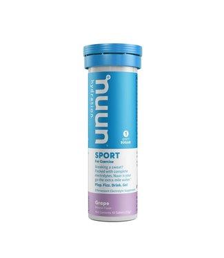 NUUN Sport, Poudre, Raisin, 10 portions