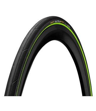 CONTINENTAL Ultra Sport III 700x25 Black/Green Folding PureGrip
