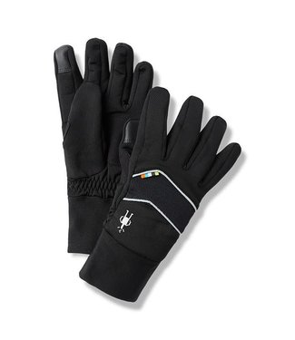 SMARTWOOL Gant d'entaînement isotherme Merino Sport Fleece en molleton Noir
