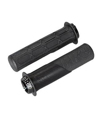 PRO - SHIMANO Lock on Trail grip Black w. flange 32MM / 132MM