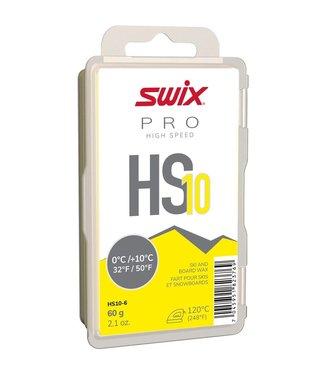 SWIX HS10 YELLOW, 0°C/+10°C, 60G