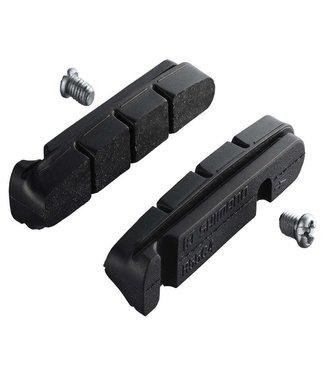 SHIMANO BR-9000 R55C4 CARTRIDGE-TYPE BRAKE SHOES & FIXING BOLTS (PAIR)