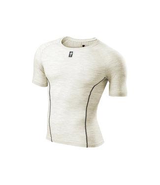 SPECIALIZED MERINO TECH LAYER SHORT SLEEVE - White XL