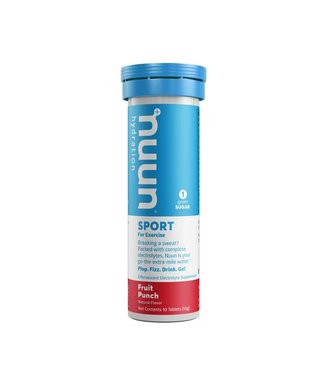NUUN Nuun, Sport, Drink Mix, Fruit Punch, Box of 8, 10 servings