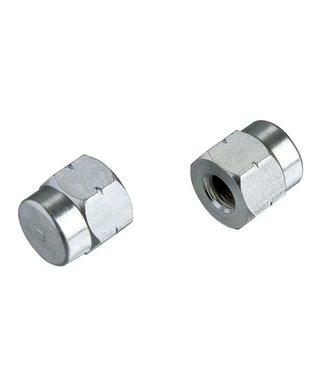 TACX T1416, Noix pour axe 3/8'' (2 pièces)