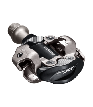 SHIMANO PEDAL, PD-M8100, DEORE XT, SPD, W/O REFLECTOR, W/CLEAT(SM