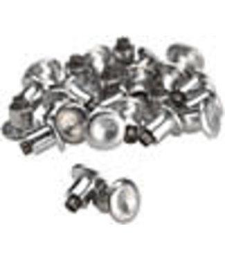 45NRTH 45NRTH Concave Carbide Aluminum Studs: Pack of 25