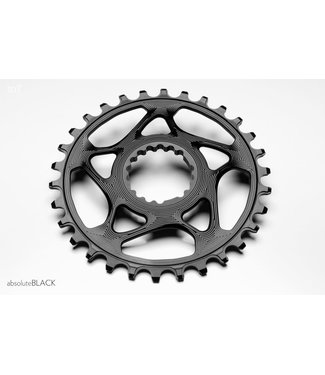 ABSOLUTE BLACK ROUND CANNONDALE CHAINRING 32T BLACK