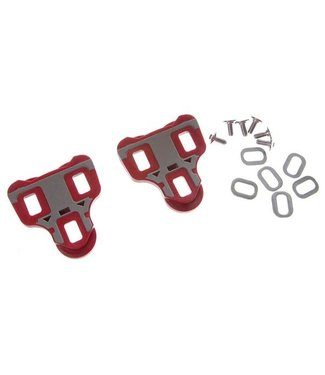 V-SIXTY V-Sixty RC-7B Road Pedal Cleats, 6 Float /pair      (fits: Wellgo R096, Look Keo, Powertap P1)