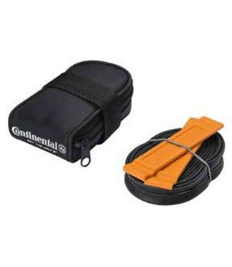 CONTINENTAL Saddle Bag w/ 700C 60mm tube & 2 tire levers
