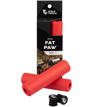 Wolf Tooth Wolf Tooth Fat Paw Grips - Red