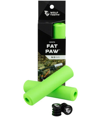 Wolf Tooth Wolf Tooth Fat Paw Grips - Green