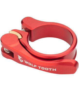 Wolf Tooth Components Quick Release Seatpost Clamp - 34.9mm, Red