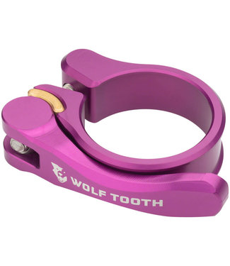 Wolf Tooth Components Quick Release Seatpost Clamp - 34.9mm, Purple