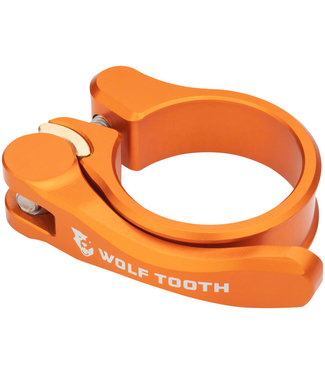 Wolf Tooth Components Quick Release Seatpost Clamp - 34.9mm, Orange