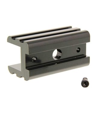 HOLLYWOOD RACKS Hollywood Racks, Adaptateur pour convertir prise de 1-1/4''a 2'', Aluminium