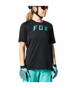 FOX Womens Defend Jersey BLACK XS