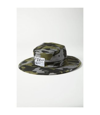 FOX Traverse Hat  GRN CAM S/M