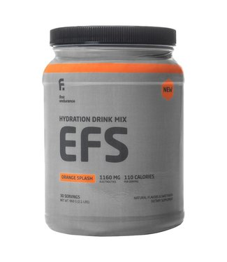 1st Endurance 1st Endurance, EFS, Poudre, Orange Splash, Pot, 30 portions