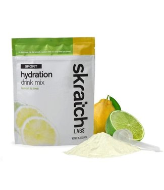SKRATCH LABS Sport Hydration Drink Mix: Lemons and Limes, 440G