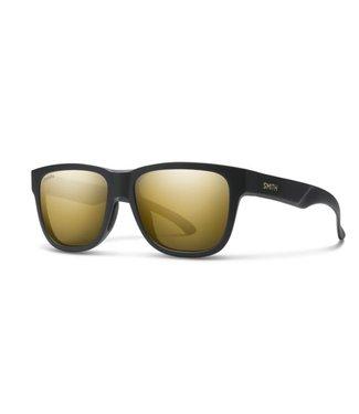 SMITH Lowdown Slim 2 Matte Black Gold ChromaPop Polarized Black Gold