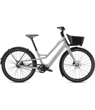 SPECIALIZED Turbo Como SL 5.0 Brushed Silver / Transparent M