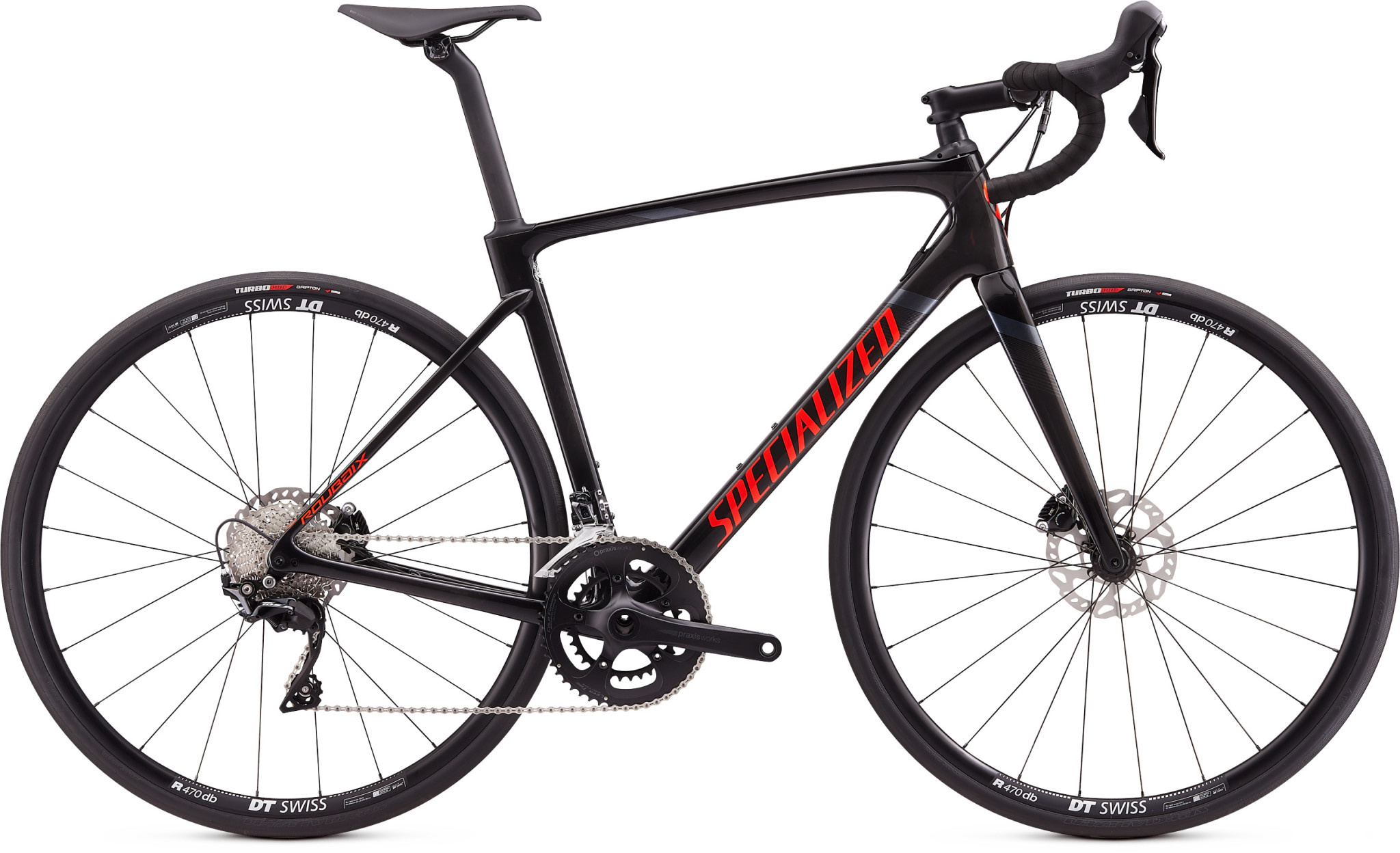 Specialized 20 ROUBAIX SPORT CARB/RKTRED/BLK 54
