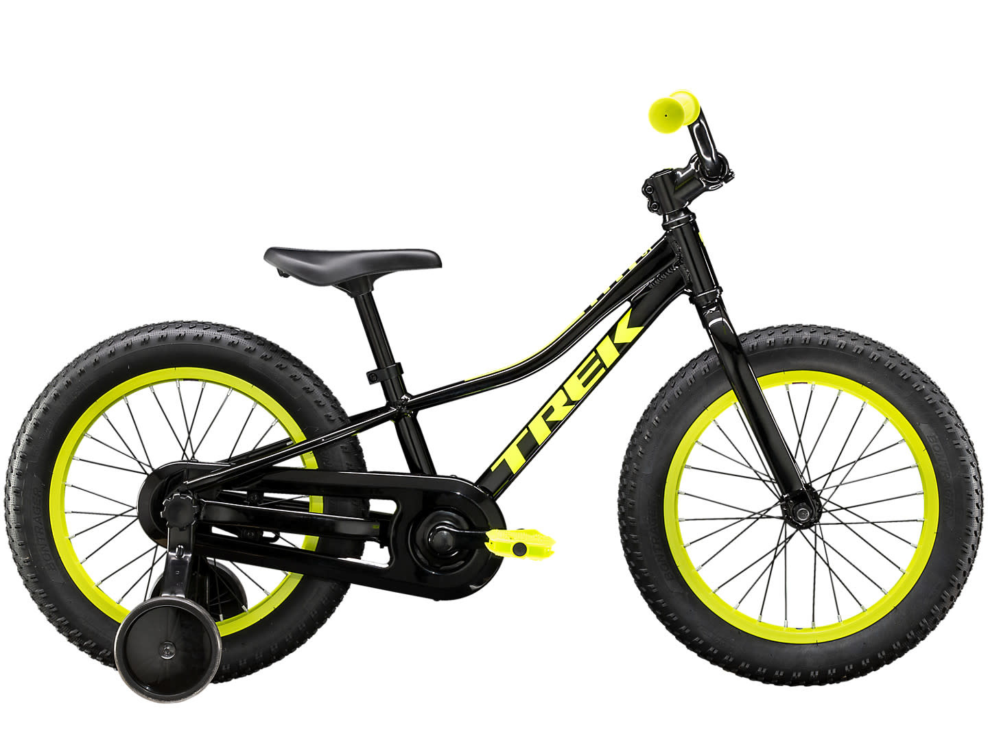 Trek 20 Precaliber 16 Boys, Black
