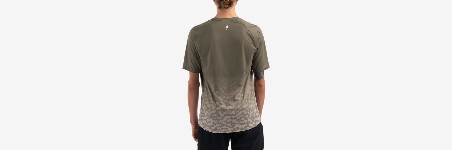 M ENDURO AIR SS JERSEY, OAK GREEN