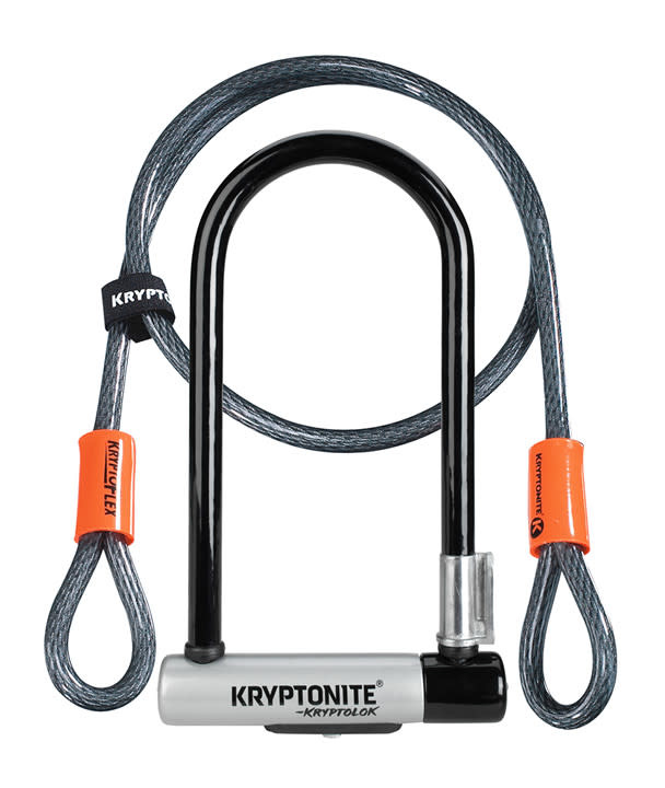 KRYPTONITE Kryptonite KRYPTOLOK STD W/4' FLEX CABLE