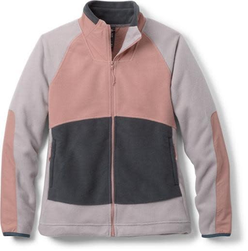 Unclassic Fleece Jacket - Smoky Quartz