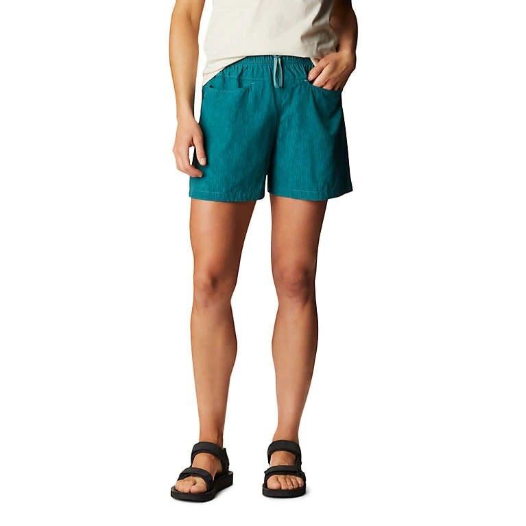 Coveland Short - Washed Turquoise