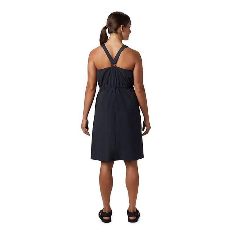 Freefall Halter Dress - Black