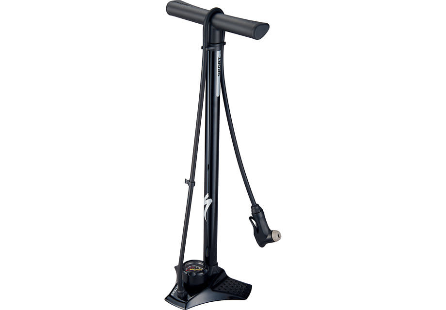 Specialized AIR TOOL SPORT STEEL SWITCHHITTER II FLOOR PUMP - Black