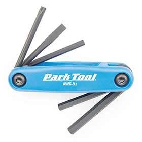 AWS-9.2, Flding screwdriver/ hex wrench set