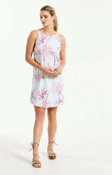 Fig Rea Dress - Crystal Carnation