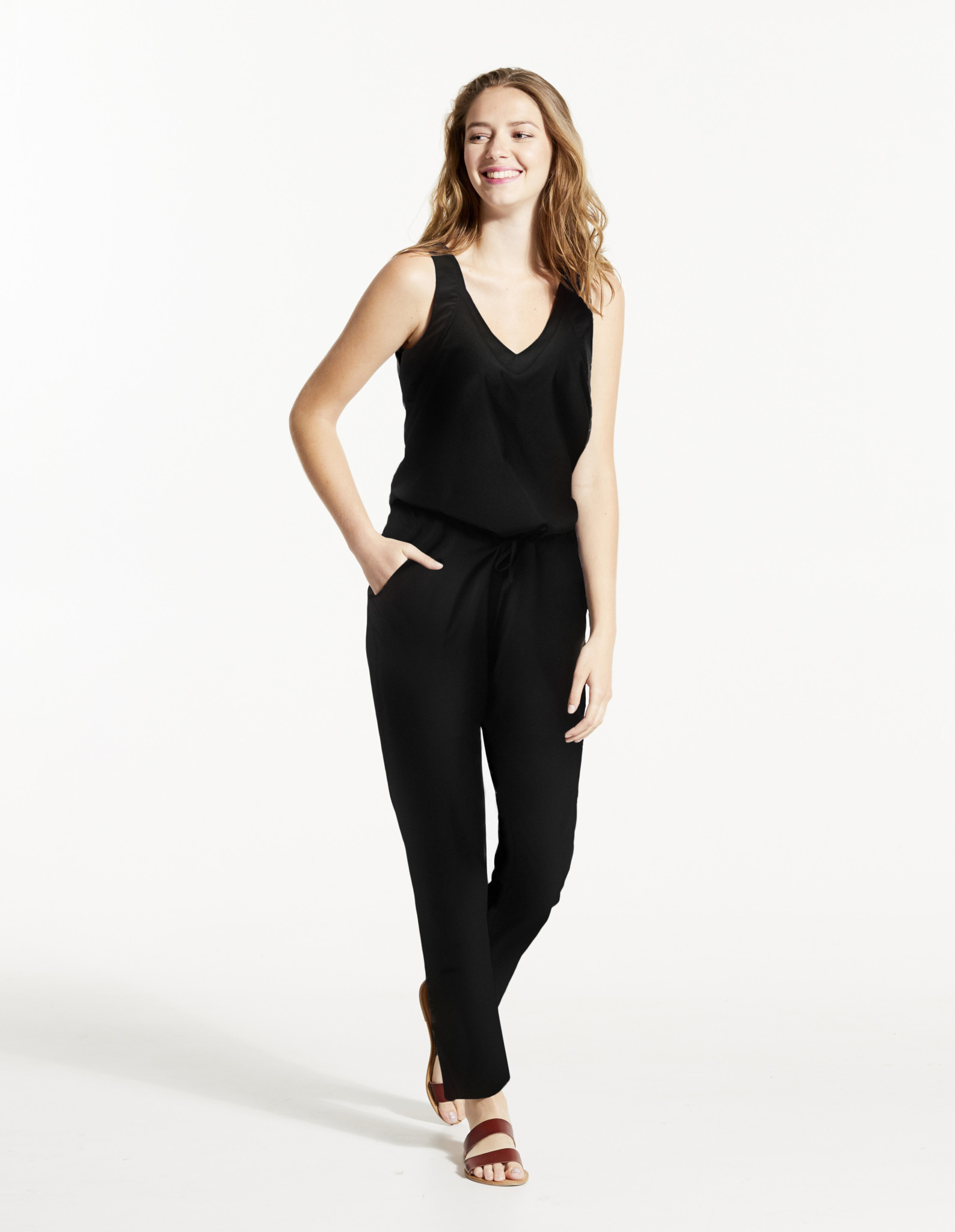 Fig Zaz Jumpsuit - Black
